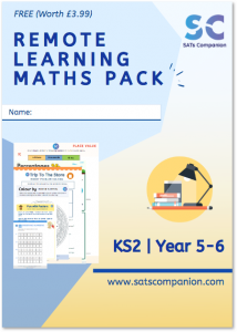 SATS Companion Remote Learning Maths Pack